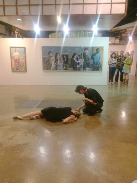 THEM, Opening PerformanceSurrogate Gallery Projects. Photo Courtesy Holly Boruck.