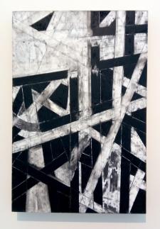 Trevor Norris, Interstitial Abstraction 18 #1 in Little Britain at Vita Art Center. Photo credit: Patrick Quinn.