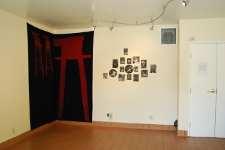 Therese Upstairs, Surrogate Gallery Projects. Photo Courtesy Holly Boruck.