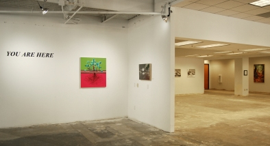 YOU ARE HERE, Surrogate Gallery Projects. Photo Courtesy Holly Boruck.