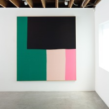 Ethan Cook, Propositions, Installation view at Anat Ebgi. Photo courtesy of the gallery.
