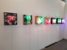 Linda Sue Price. All Lit Up. Eastern Projects. Photo Courtesy Kristine Schomaker