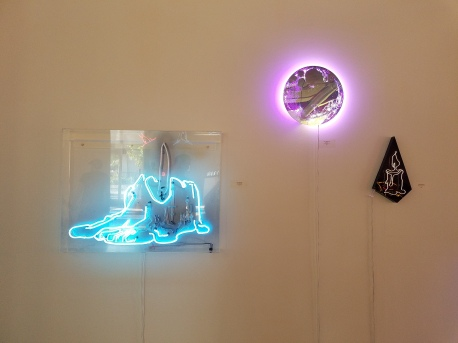 Leticia Maldonado. All Lit Up. Eastern Projects. Photo Courtesy Kristine Schomaker