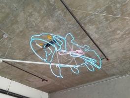 Michael Flechtner. All Lit Up. Eastern Projects. Photo Courtesy Kristine Schomaker