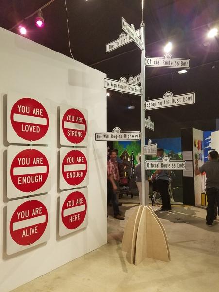 Scott Froschauer. Alt 66. LA County Fair. Millard Sheets Art Center. Photo Credit Kristine Schomaker