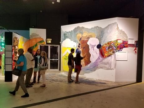 Tania Alvarez. Alt 66. LA County Fair. Millard Sheets Art Center. Photo Credit Kristine Schomaker