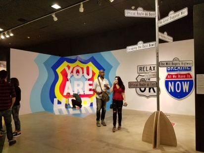 Miriam Hellmann and Scott Froschauer. Alt 66. LA County Fair. Millard Sheets Art Center. Photo Credit Kristine Schomaker