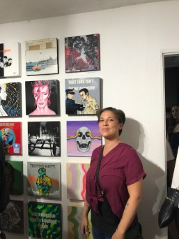 Skye Amber Sweet. Remix: The Art of Music. Gabba Gallery. Photo Credit Genie Davis
