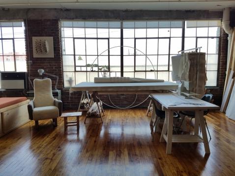Mary Little. DTLA Long Beach Avenue Lofts 5th Annual Open Studios