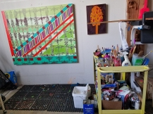 Sandra Vista. DTLA Long Beach Avenue Lofts 5th Annual Open Studios