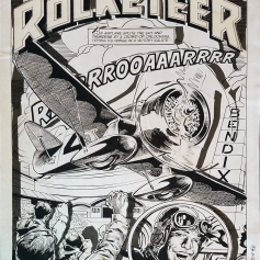 Ray Zone, Neal Adams - The Rocketeer 3D