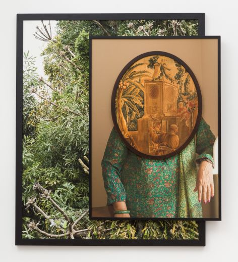 Todd Gray. - Purnima, 2018- Three archival pigment prints in found frames and artist_s frames and UV laminate- courtesy of Meliksetian Briggs--