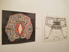Colin Roberts. Dialectic of Being and Becoming: Realization at of Fullness, curated by Khang Bao Nguyen. At the 18th Street Art Center. Photo credit: Kristine Schomaker.