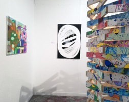 Hagop Najarian. Dialectic of Being and Becoming: Realization at of Fullness, curated by Khang Bao Nguyen. At the 18th Street Art Center. Photo credit: Kristine Schomaker.