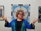 Karen Hochman Brown, Shoreline Symmetry at California Center for Digital Arts. Photo credit: Kristine Schomaker.