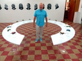Paul Paiement at Coagula Curatorial. Photo credit: Patrick Quinn.