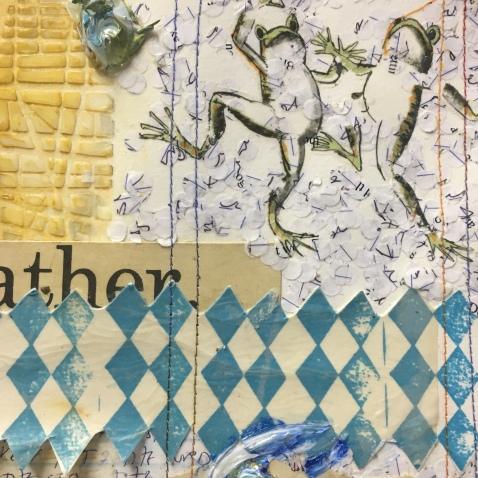 detail, Route, Rut, Lane: A Karkhana Collaboration. Shoebox Projects Photo courtesy of the artists