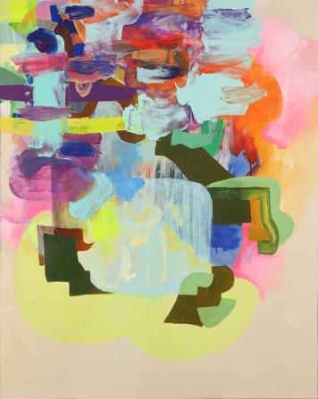 Hagop Najarian: Falling up in Atonal Chromatics at Rio Hondo College Art Gallery. Photo courtesy of the artist.