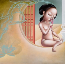 Phung Huynh. The Sewing Circle: Feminine Narratives. Marlborough School Seaver Gallery. Photos Courtesy of the Artists