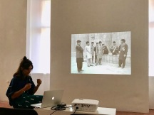 Jeanno Gaussi Artist Talk_PALA LAB at SomoS Art Space_photo by Lara Salmon