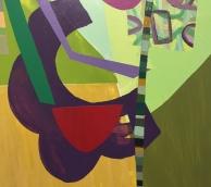 Hagop Najarian: Atonal Chromatics at Rio Hondo College Art Gallery. Photo credit: Lorraine Heitzman.