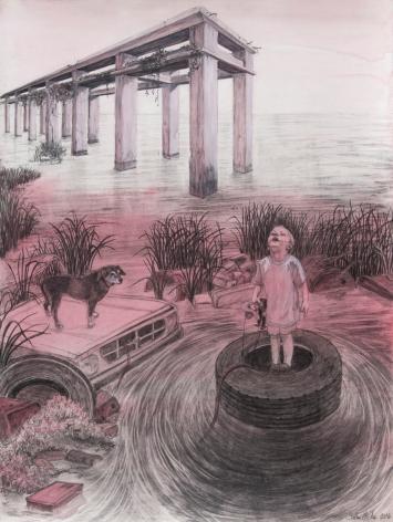 Siobhan McClure. The Sewing Circle: Feminine Narratives. Marlborough School Seaver Gallery. Photos Courtesy of the Artists