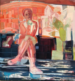 Andrea Patrie. The Sewing Circle: Feminine Narratives. Marlborough School Seaver Gallery. Photos Courtesy of the Artists