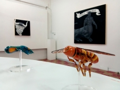 Paul Paiement, Hybrids A in Insect/Mammal at Coagula Curatorial. Photo credit: Patrick Quinn.
