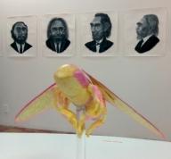 Paul Paiement, Hybrids C in Insect/Mammal at Coagula Curatorial. Photo credit: Patrick Quinn.