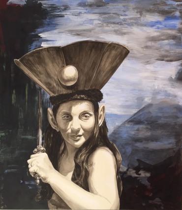 Kate Savage. The Sewing Circle: Feminine Narratives. Marlborough School Seaver Gallery. Photos Courtesy of the Artists