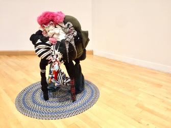 Shinique Smith. Refuge. Bringer, (2010) California African American Museum. Photo Credit Shana Nys Dambrot