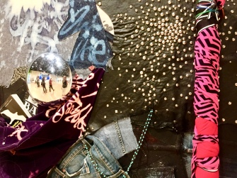 Shinique Smith. Refuge. Eutaw Pace (detail) California African American Museum. Photo Credit Shana Nys Dambrot