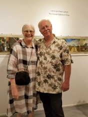 Laura and Dean Larson, The Council Gathers in Time at LAAA/Gallery 825. Photo credit: Kristine Schomaker.