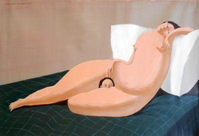 Annie Kurkdjian at Art Lab. Photo courtesy of the gallery