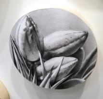 Catherine Ruane, detail, in Nature Worship at MASH Gallery. Photo credit: Kristine Schomaker.