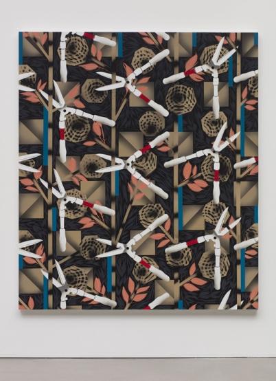 Portrait of a Textile (Cretonne) Photo: Courtesy Regen Projects, Los Angeles