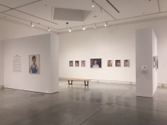 Amy Elkins, Photographs of Contemporary Masculinity, Installation View, Orange Coast College, Frank M. Doyle Arts Pavilion. Photo courtesy of the gallery.