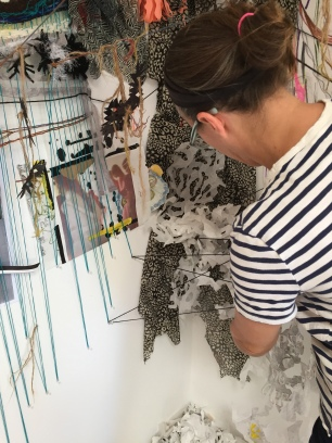 Making Lightly: A communal residency at Atche Art Space. Photo credit: Genie Davis