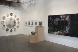 Nature Worship Curated by Andi Campognone, Mash Gallery. Photo credit: Gary Brewer.