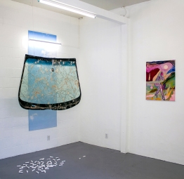 Mackenzie Goodman and Adam Stacey and Jessica Williams. Fool's Gold at Noysky Projects. Photo courtesy of Noysky Projects