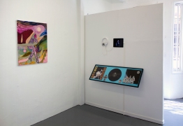 Jessica Williams and Tom Dunn. Fool's Gold at Noysky Projects. Photo courtesy of Noysky Projects