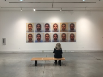 AmyElkins, Photographs of Contemporary Masculinity, Installation View, Orange Coast College, Frank M. Doyle Arts Pavilion. Photo courtesy of the gallery.