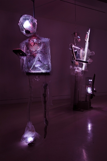 Danial Nord. Cloud Nine. Torrance Art Museum. Photo Credit Gene Ogami