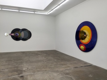 Olafur Eliasson, installaton view at Tanya Bonakdar Gallery. Photo credit: Shana Nys Dambrot