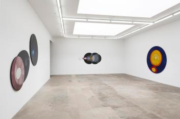Olafur Eliasson, installation view with Your self-need at Tanya Bonakdar Gallery. Photo credit: Shana Nys Dambrot