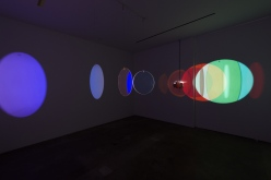 Olafur Elisasson, Retinal flare space, 2018. Photo courtesy of Tanya Bonakdar Gallery.