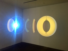 Olafur Elisasson, Retinal flare space, 2018 at Tanya Bonakdar Gallery. Photo credit: Shana Nys Dambrot