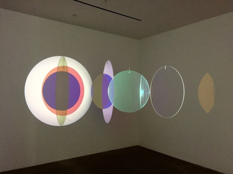 Olafur Elisasson, Retinal flare space, 2018 at Tanya Bonakdar Gallery. Photo credit: Shana Nys Dambrot