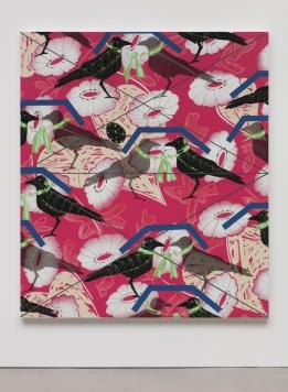 Portrait of a Textile (Silk Organza) Photo: Courtesy Regen Projects, Los Angeles