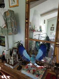 Peter Ivancovich studio visit with Kristine Schomaker. Photo credit: Kristine Schomaker.